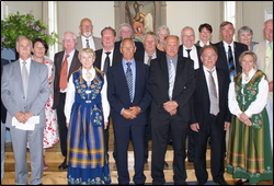 50 års konfirmanter i Fore kirke 2009